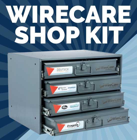 Wirecare 4 Drawer Shop Kit