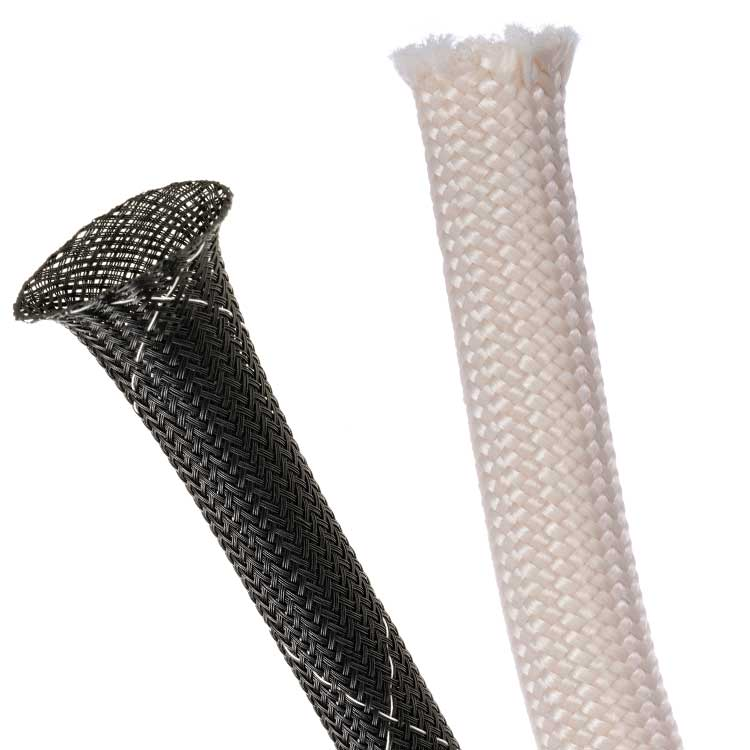 Techflex chemically advanced multifilament braided sleeving