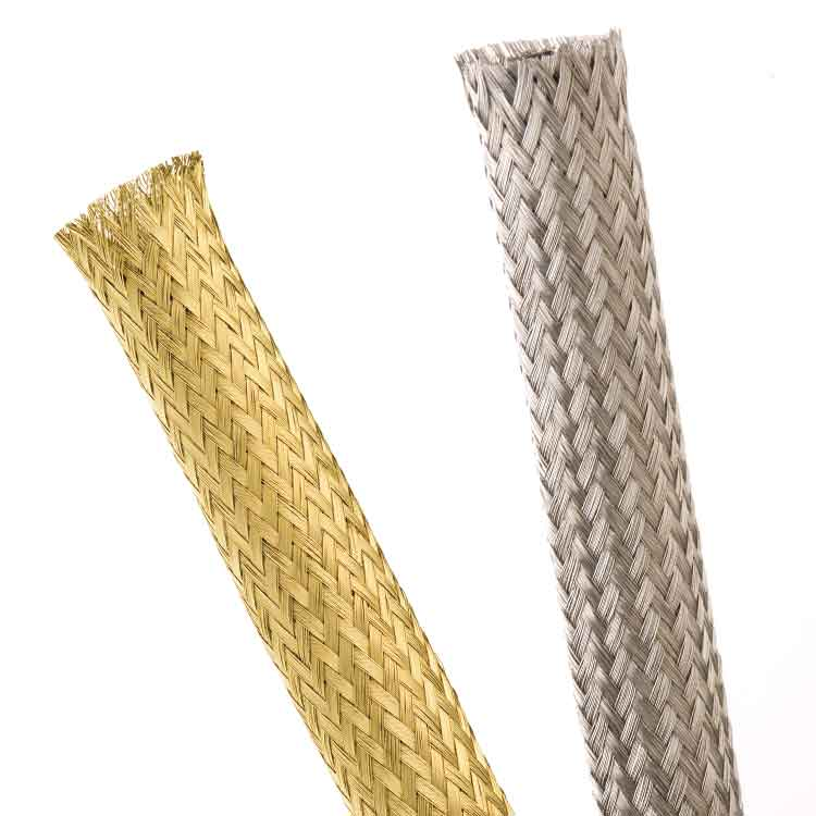 Techflex metal and shielding braided sleeving