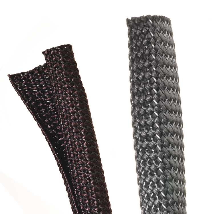 Techflex noise reduction braided sleeving