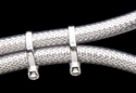 chrome plated cable ties application