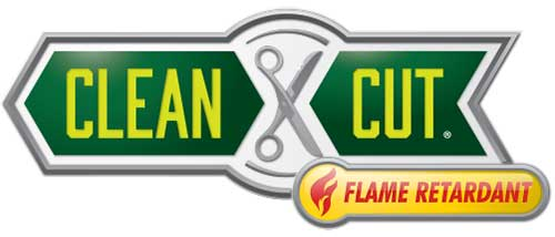 clean cut flame retardant logo