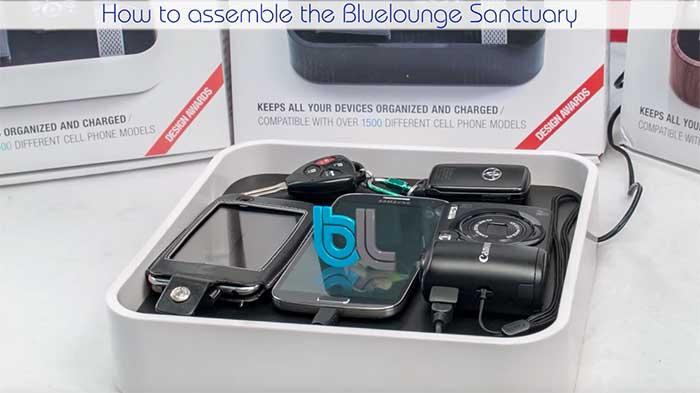 Video wc bluelounge sanctuary