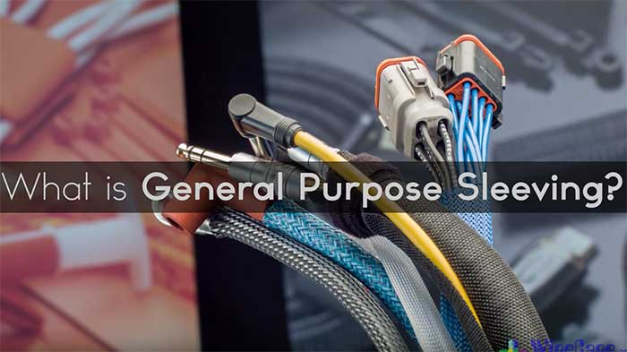 Video wc general purpose sleeving