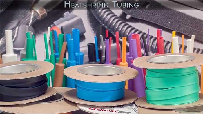 Video wc heatshrink tubing