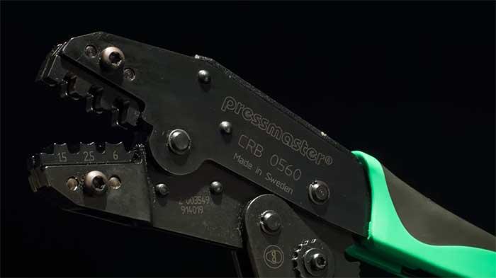 Video wc pressmaster crimp non insulated