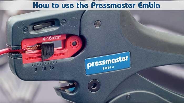 Video wc pressmaster embla
