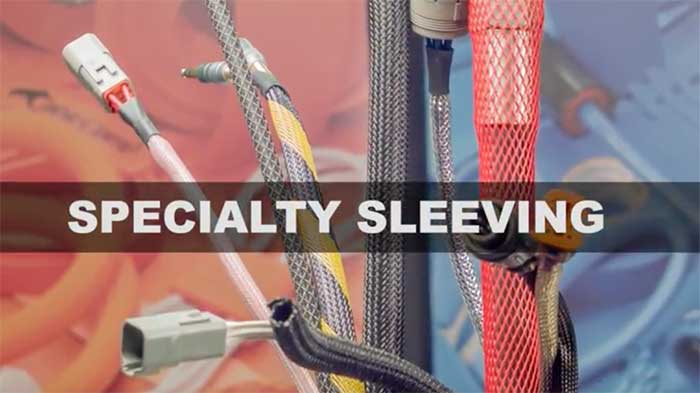 Video wc specialty sleeving