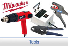 Hot knives, Heat guns, Wire Crimpers, Wire Strippers