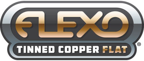 Flexo tinned copper flat Logo