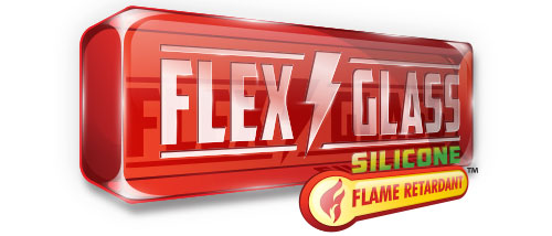 FR Silicone Flex Glass Logo