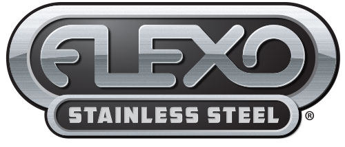 flexo stainless steel logo