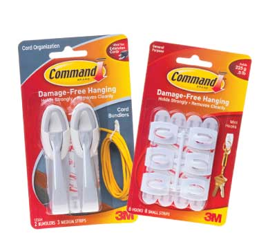 3M - 3M Command Wire Management Products