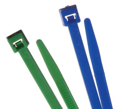 CCT - Standard Colored Nylon Cable Ties