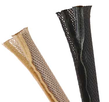 FWN - Flexo Wrap Braided Wraparound Sleeving