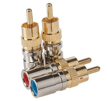RG6/6Q Connectors