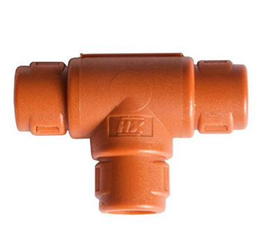 Harnessflex T Pieces Hinged Fitting