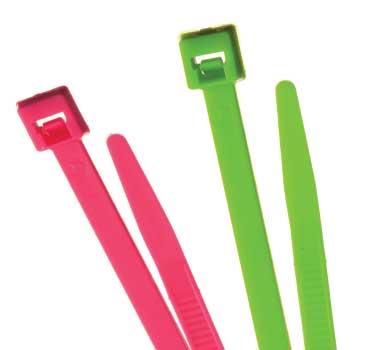 TRU - UV Reactive Nylon Cable Ties