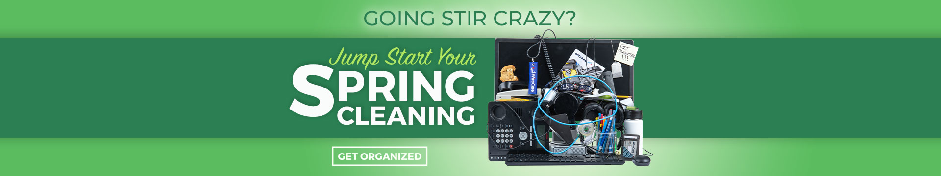 Jump Start Your Spring Cleaning