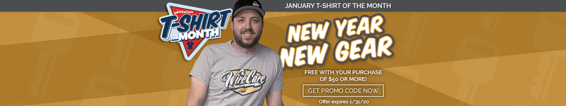 January 2020 Tshirt of the Month
