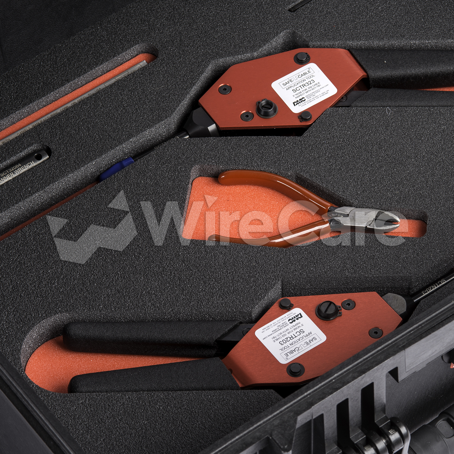 Safe T Cable 174 Tool Kit 032 And 022 Quot Wirecare Com