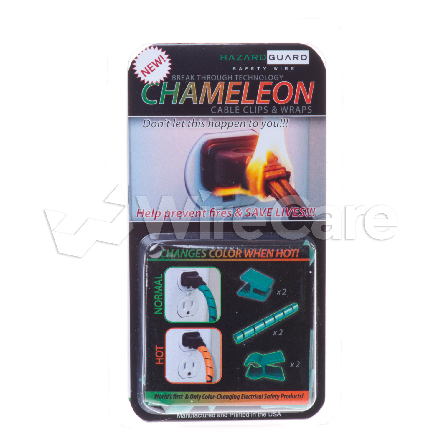 CHA0.00GN - Chameleon Color Changing Clip & Wrap