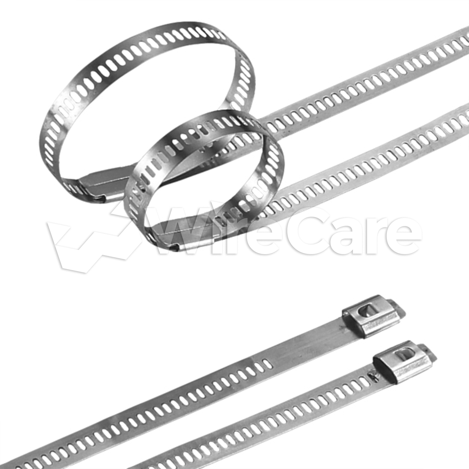 6 u0026quot  - 250lb silver ss ladder cable tie