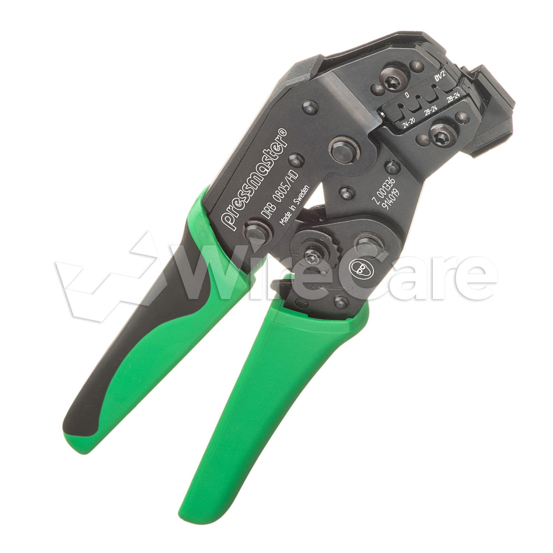 Crimper for D-Sub Connectors - WireCare.com