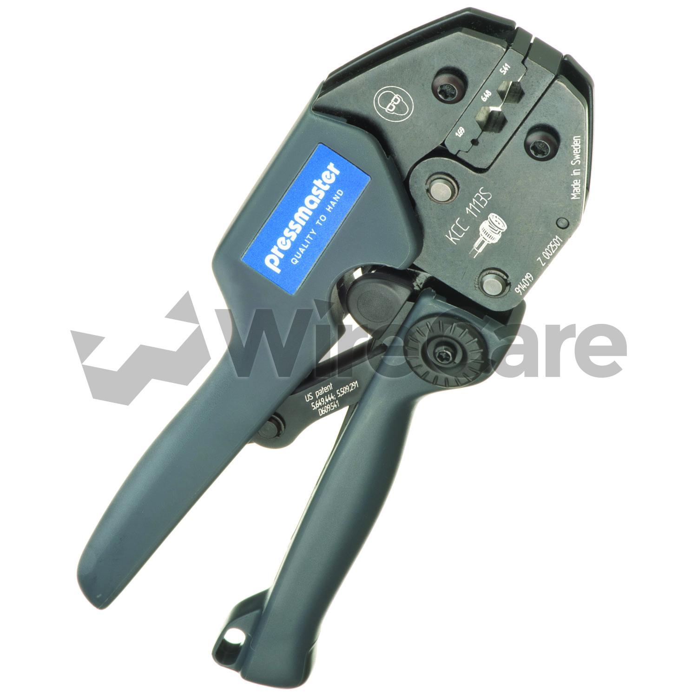 Crimp Tool for Coaxial Connectors - WireCare.com