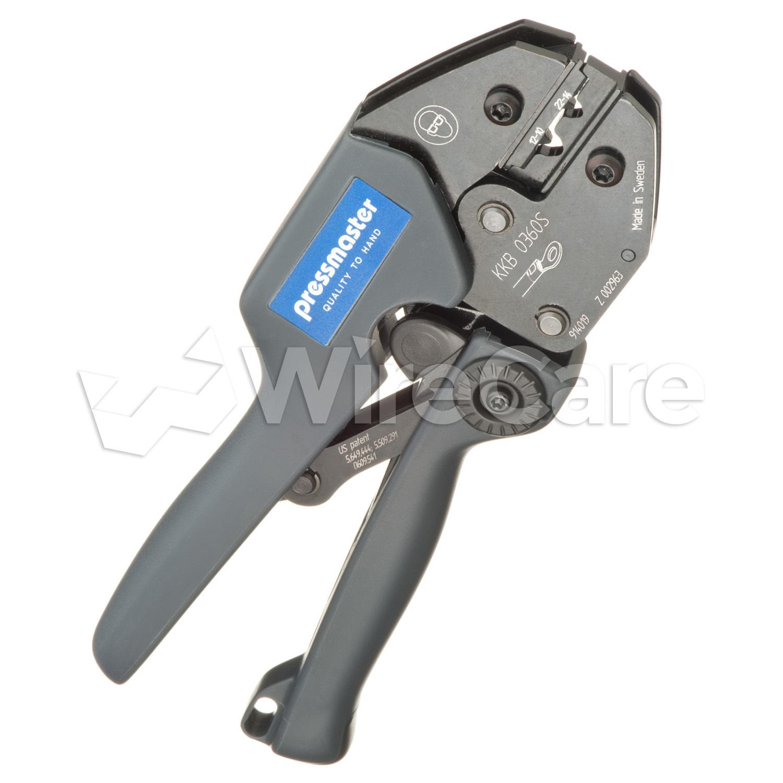Crimp Tool for Non-Insulated Connectors - WireCare.com
