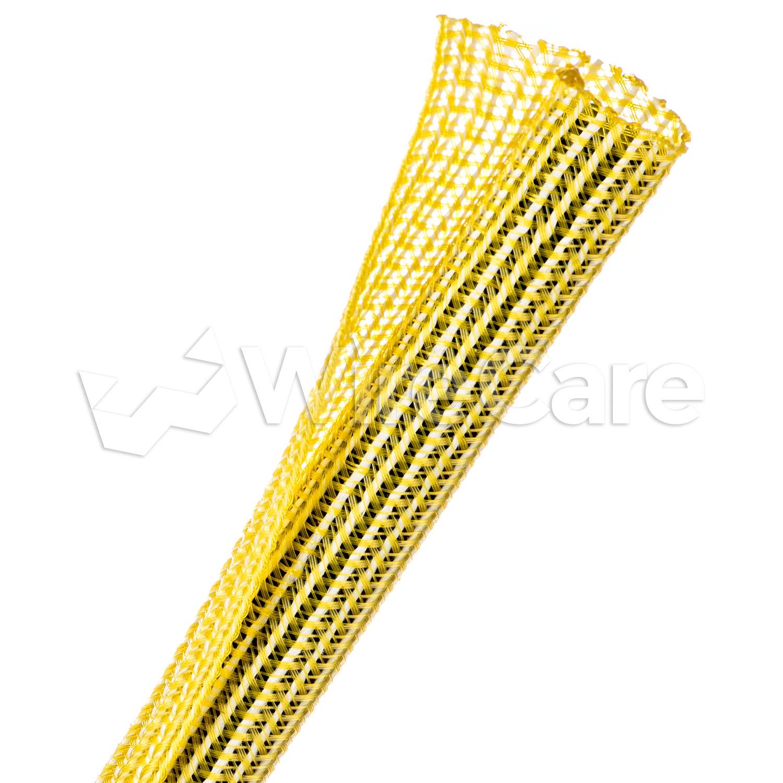 "Techflex F6 Woven Wrap Self Wrapping Split Tubular Sleeving 1//2/"" x 150/'"