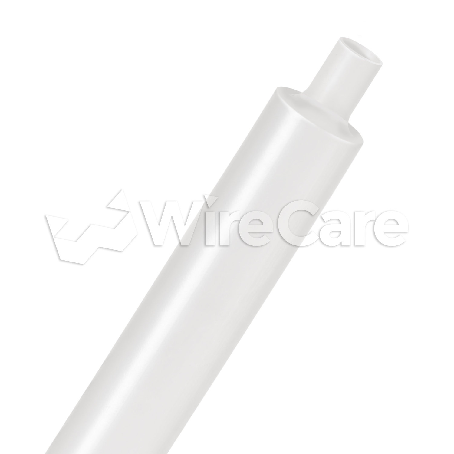 2:1 Ultra Clear PVC Heat Shrink Tubing 25 ft piece-3//4/""