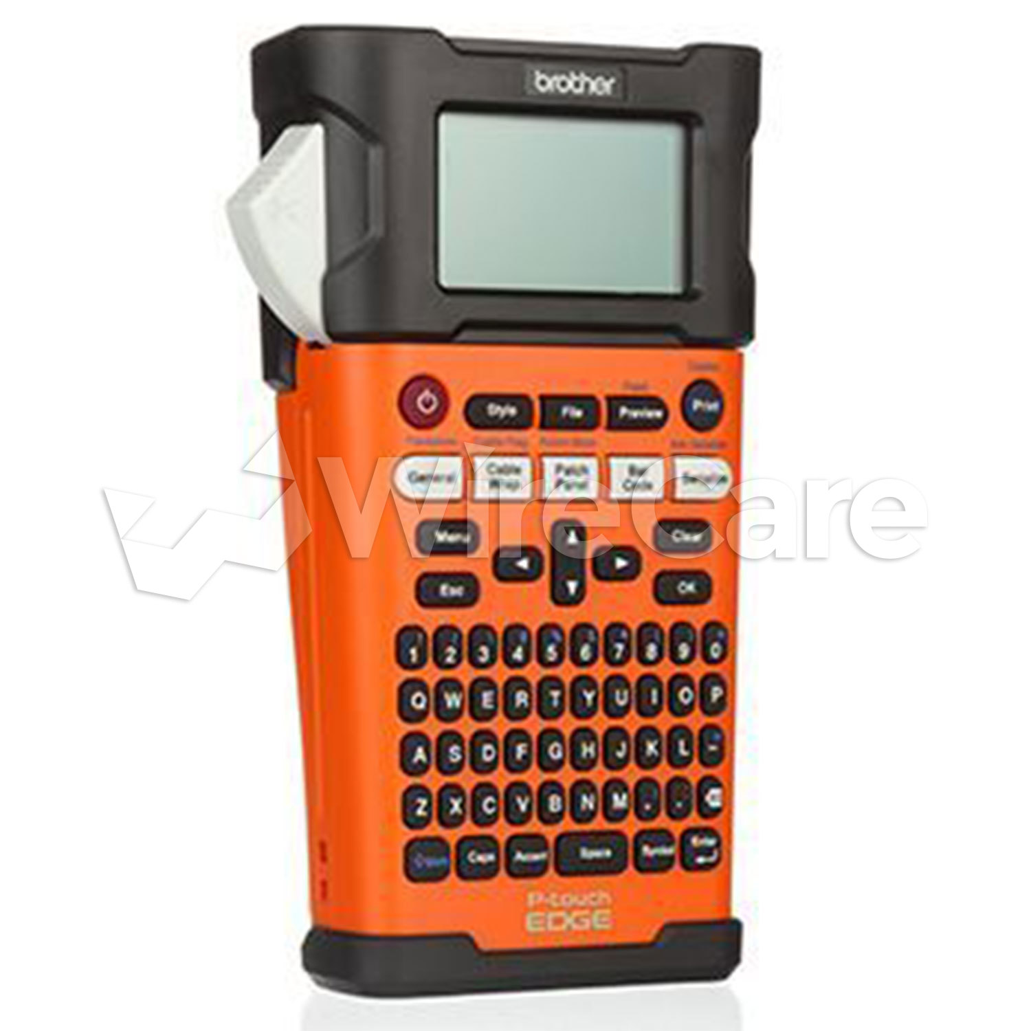 Brother PTE300 Industrial Handheld Labeling Tool with Rechargeable Li-ion Battery for sale online